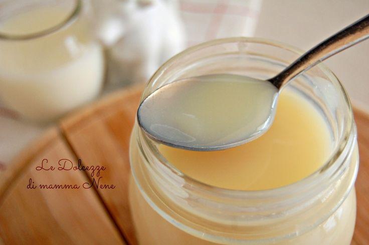 Il LATTE CONDENSATO è semplicemente latte cotto ad alta temperatura e privato della sua parte umida per renderlo cremoso e omogeneo.
