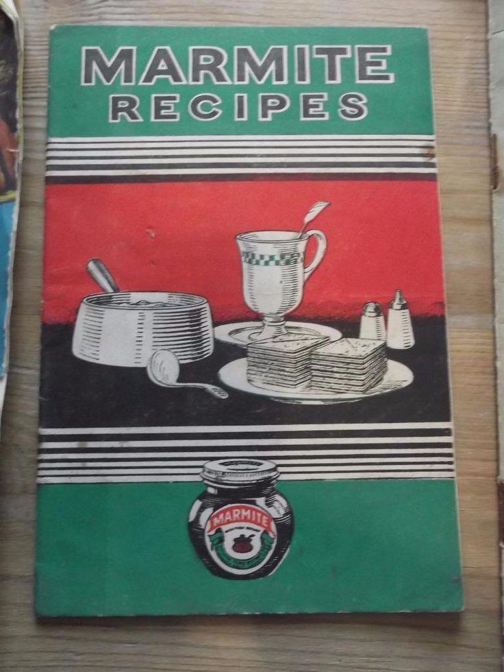 Vintage Cookery Leaflets 1930 to 1950 Marmite