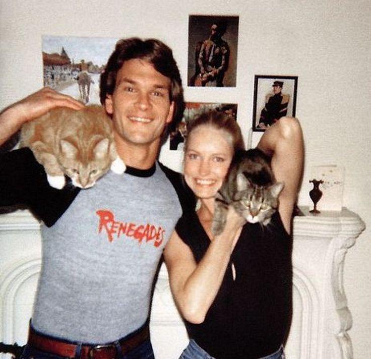 Patrick Swayze & wife Lisa Neimi