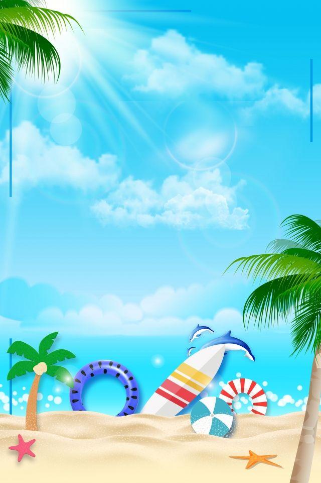 Beautiful Summer Beach Beach Summer Wallpaper Summer Beach Summer Backgrounds