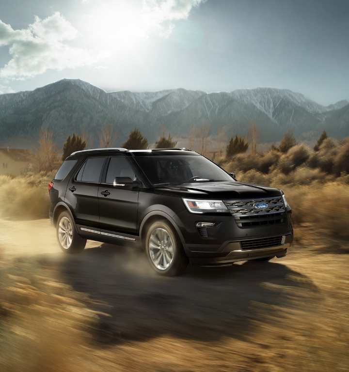 2018 Ford Explorer Xlt In Shadow Black With Images Car Wheels