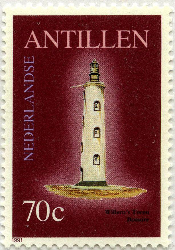 Faros Faro Willem Antillas Holandesas 1991 175