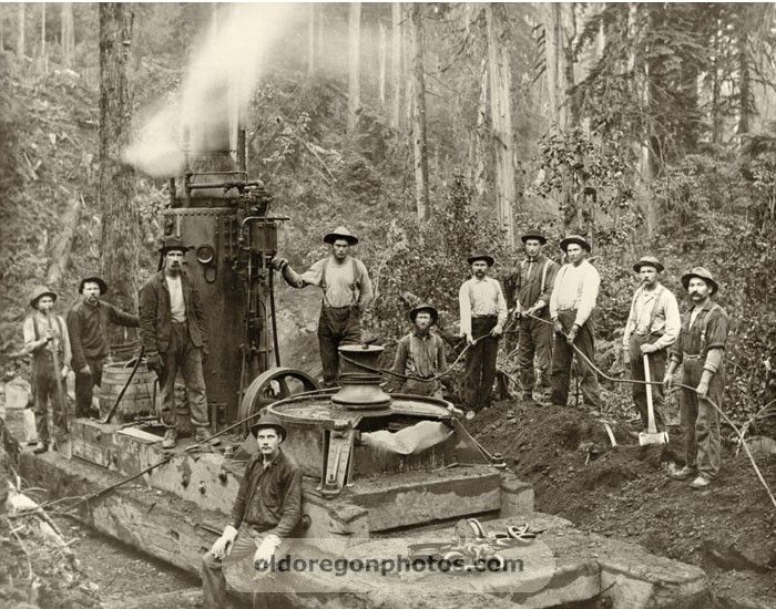 Birth of Skagit Steel and Sedro-Woolley Iron Works |Steam Donkey Engine Plans