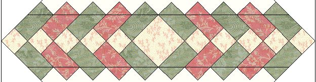 Easy Free Table Topper Final Cutting Step Also a lot of free quilt patterns and tips