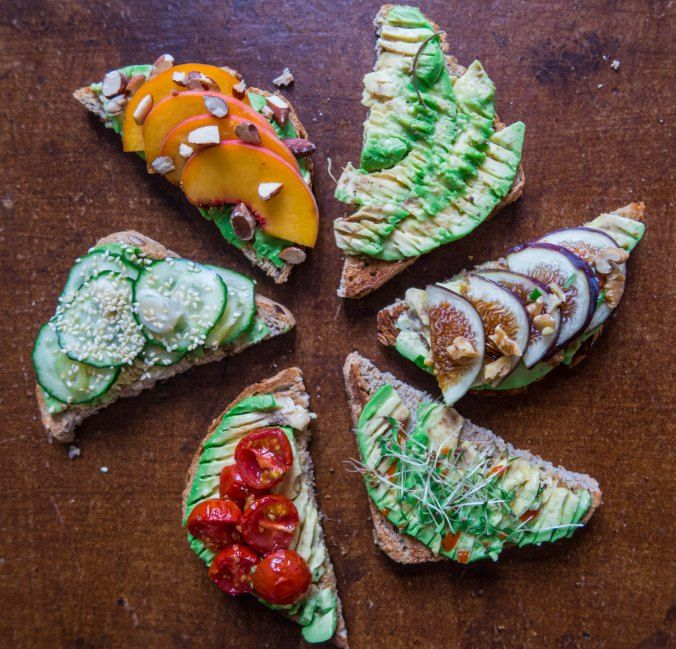 Avocado toast + upgrades // by Tasty Ginger Tales