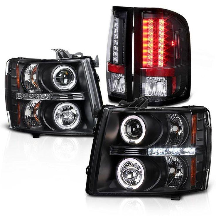 2007-2014 Silverado 1500 2500HD 3500HD Halo LED Projector Headlights Tail Lights   eBay Motors, Parts & Accessories, Car & Truck Parts   eBay!