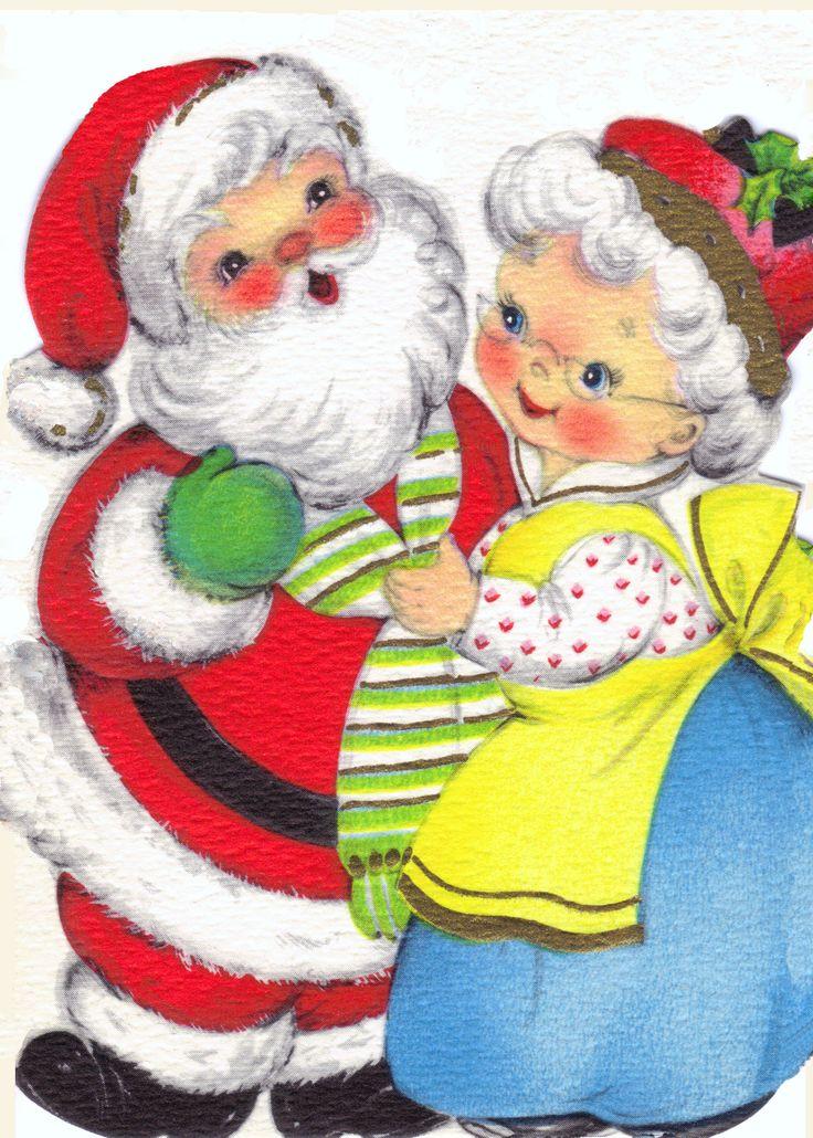 Vintage Christmas card                                                                                                                                                     More