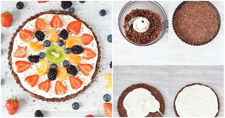 Mouthwatering: No-Bake Healthy Fruit Pizza Recipe