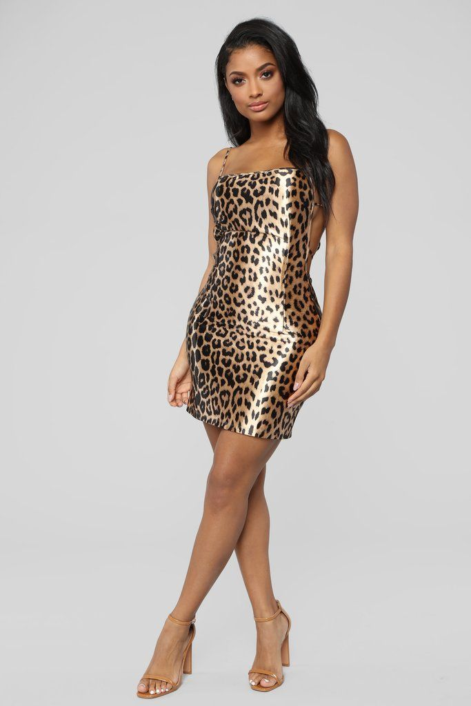 b26ef7848f6 Fashion Slayer Mini Dress - Leopard in 2019