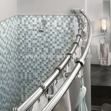 Moen Adjustable Double Curved Chrome Shower Rod From China For The Home Pinterest Shower