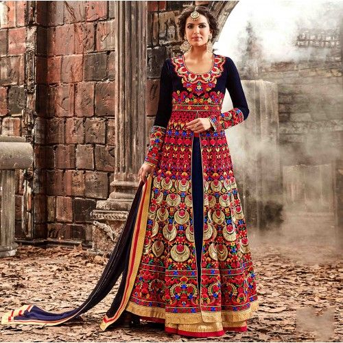 INDIAN LATEST PARTY WEAR SALWAR SUITS  2017-2018 COLLECTION | My Latest Fashion