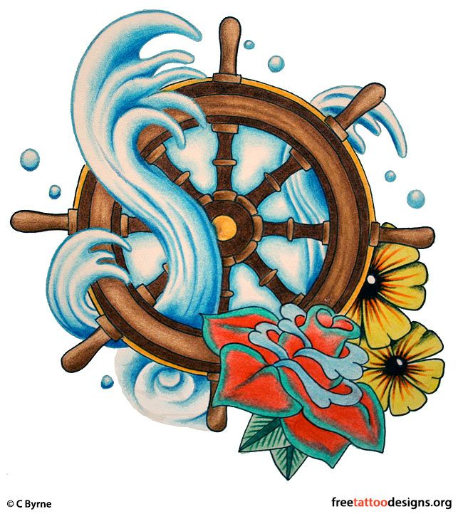 Traditional Old School Tattoos | Gypsy, Anchor, Ship, Pin Up And Sailor Jerry Tattoo Designs