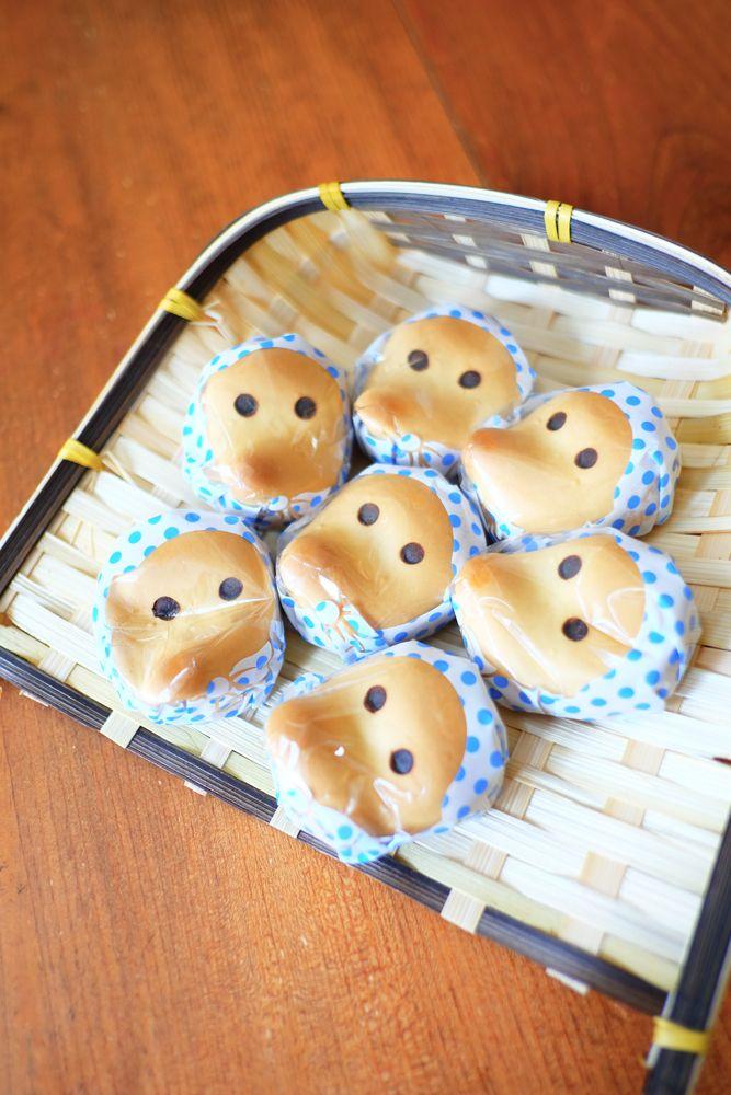 ひょっとこまんじゅう、 どじょうすくいの安来節で有名な島根県安来市のお土産
