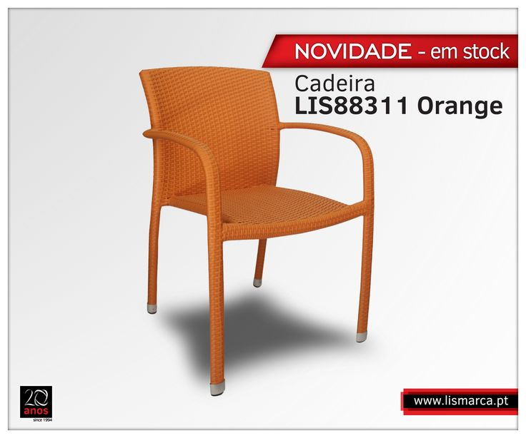 Cadeira- LIS88311 Orange