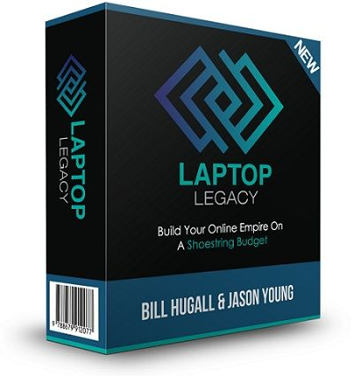 """Laptop Legacy – what is it? Laptop Legacy is Bill Hugall's new over-the-shoulder video training course! It features 8 in-depth """"no bs"""" training modules teaching the Laptop Legacy method, along with additional tools/cheatsheets to help you through the course!"""