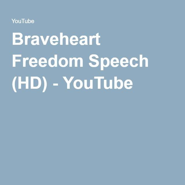 Braveheart Freedom Speech (HD) - YouTube