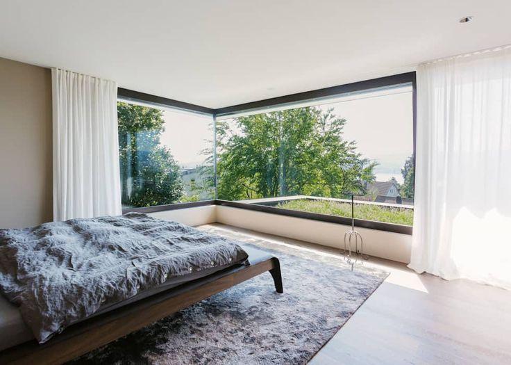 16 besten Gardinen Bilder auf Pinterest Innenarchitektur - moderne wohnzimmer gardinen