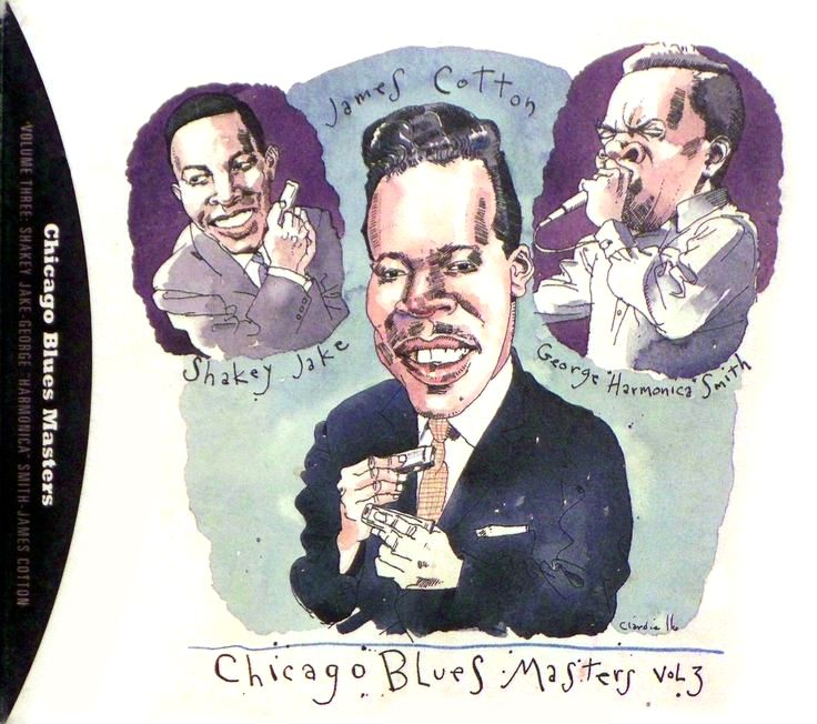 """Chicago Blues Masters"" by Joe Ciardiello Capitol Blues Collection (1995)"