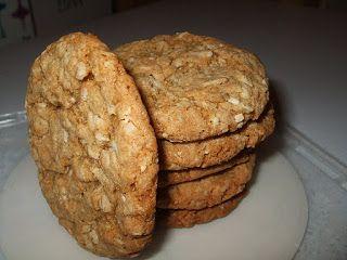 Dans les casseroles de GG: Biscuits à l'avoine épicés (Spicy Dad's)