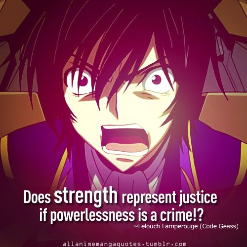 the source of anime and manga quotes | HURRAY GUYS! You get a choice to choose a name for you guys. SO VOTE ...