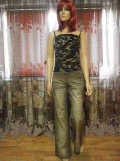 """VINTAGE DRESS-UP""                                                 HAINE DE FIRMA, HAINE DE DAMA: Miss Sixty/Dorothy Perkins"