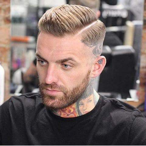 trending short hairstyles for men  comb over fade haircut