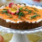 Cheesecake med rökt fårfiol och löjrom