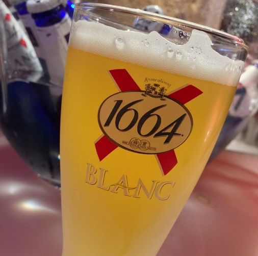 - BEER, CIDER AND LOW ACOHOL - bière kronenbourg 1664 blanc