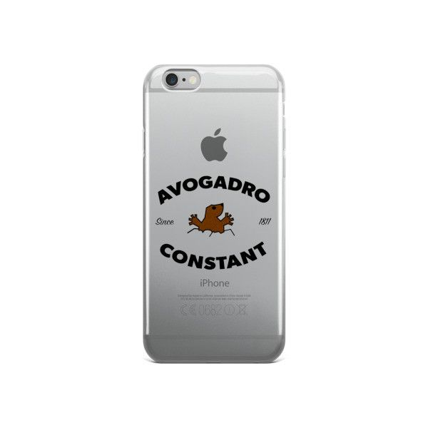 Avogadro Constant Since 1811 iPhone case