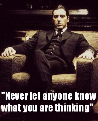-Michael Corleone from The Godfather