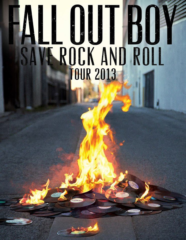 Fall Out Boy Save Rock and Roll Tour 2013! Our favorite two words: SOLD OUT. Are you going? #emo #pop #punk