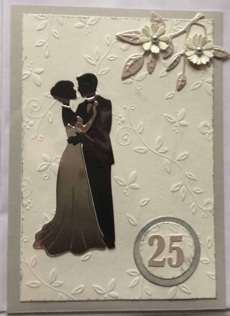 wedding anniversary greeting cardhusband%0A S  lvbryllups kort  Aniversary card