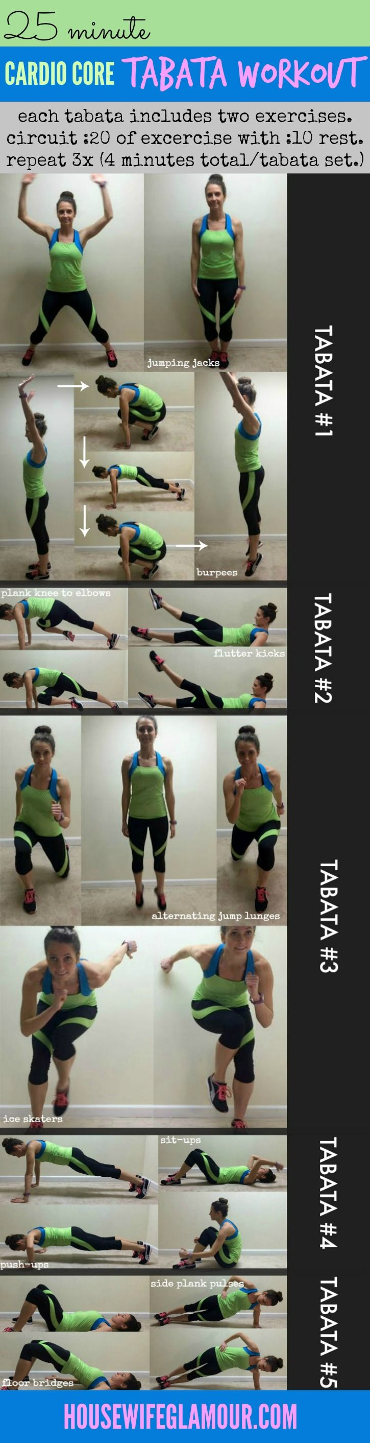 Kick off the new year with this 25 minute high intensity bodyweight workout you can complete at home! #FitFluential
