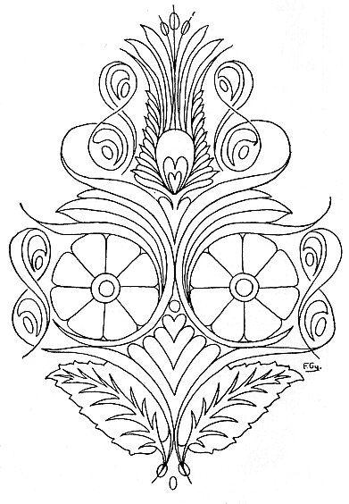 http://mek.oszk.hu/01600/01671/html/index.html?00031.htm00029.htm, A magyar nép művészete, V. kötet, viselet, rózsaleveles