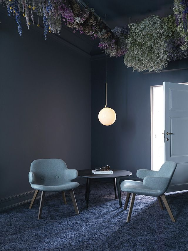 TDC: 'The Blue Room' at the new Erik Jørgensen Showroom in Copenhagen