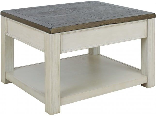 Bolanburg Brown And White Coffee Table Lift Top Furniture Lift Top Coffee Table Cocktail Tables