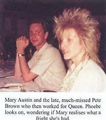 Image result for Mary Austin Freddie Mercury