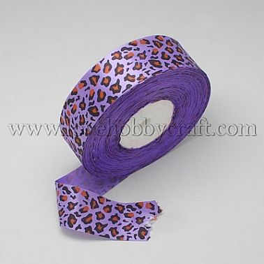 satin ribbon, leopard, nice for party decorations