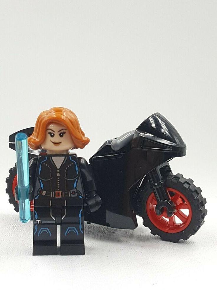 Lego Minifigure Marvel Avengers Black Widow Natalia ...
