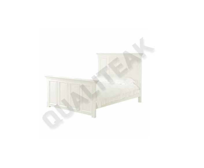 please contacts us for asking detail about Georgian White 5ft Bed