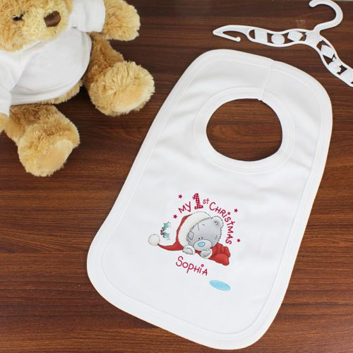 32 best christmas gifts images on pinterest christmas gifts personalised me to you tatty teddy my christmas bib personalise this me to you baby bib with any name available from creative gifts uk negle Choice Image