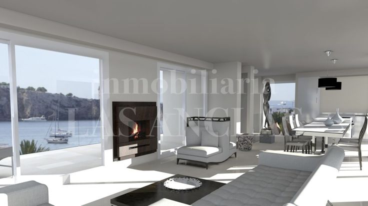 Ref. 777 Talamanca Luxurious duplex penthouse apartment under construction with large terraces and an additional private roof terrace, which is expected to be completed in autumn 2017. http://lasanclas-ibiza.com/en/ibiza/ibiza-eivissa/talamanca/777/exclusive-newly-built-luxury-penthouse-flat-in-popular-location