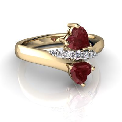73 best Ruby Engagement Rings images on Pinterest