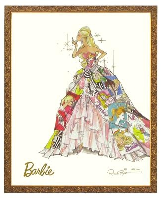 10 best Barbie Prints, Limited Edition images on Pinterest Vintage - new certificate of authenticity painting