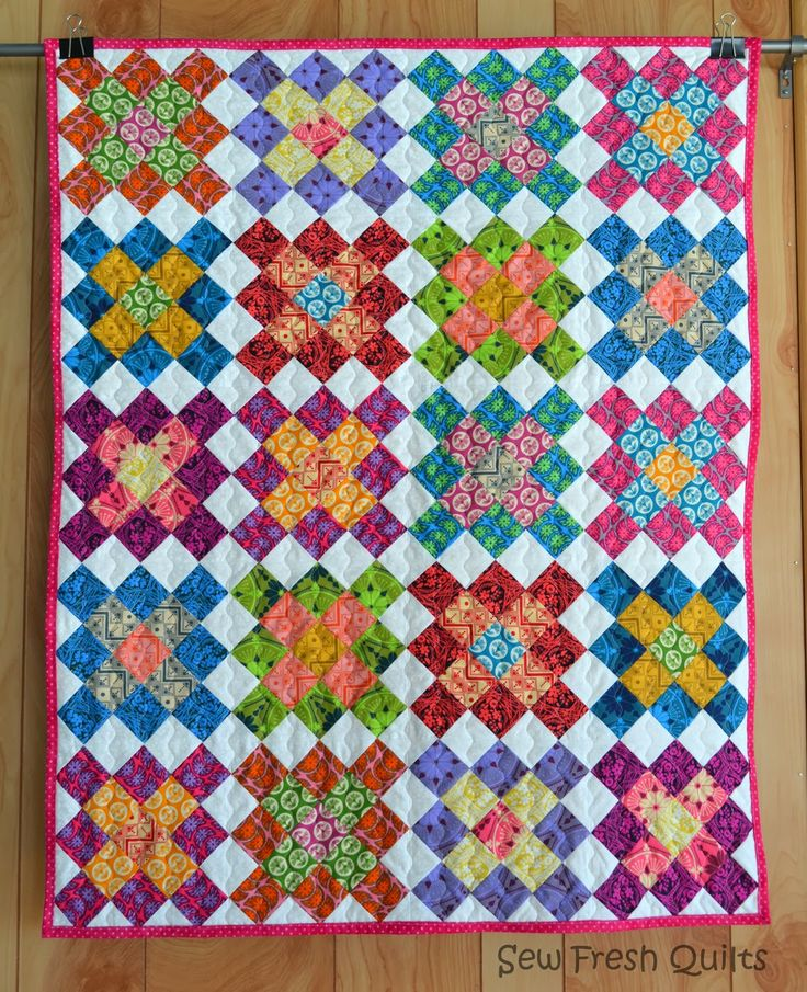 Granny Square Quilt | Sew Fresh Quilts