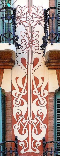 Casa Joan Baptista Rubinat, Barcelona, architect Francesc Berenguer/ Mestres, by Arnim Schulz #Art #Nouveau