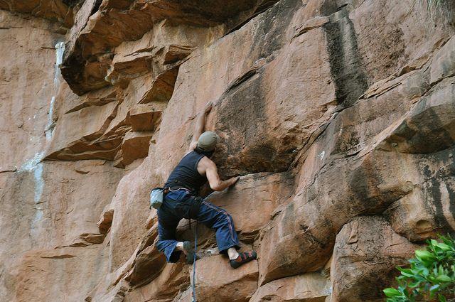 Escalada en roca La Mojarra Los Santos