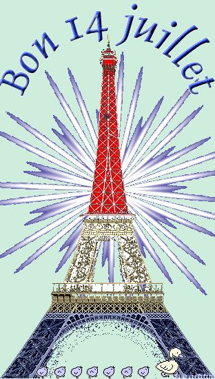 BON 14 JUILLET! VIVE LA FRANCE! Thefrenchinspiredroom.com