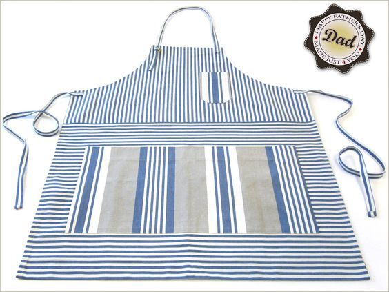 Father's Day with Fabric.com: Cook's Apron & Matching Hot Mitt   Sew4Home
