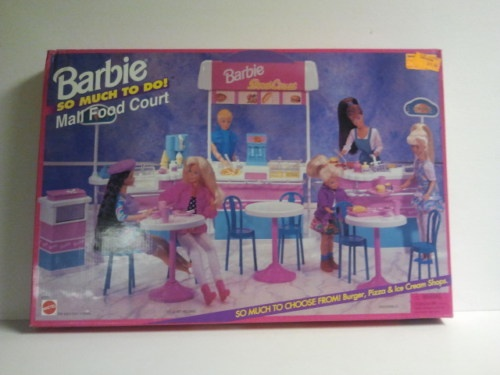 Barbie So Much To Do Mall Food Court